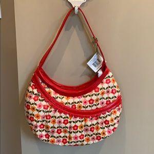 New with tags!! Vera Bradley Frill hobo bag